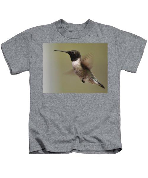 Black-chinned Hummingbird Kids T-Shirt