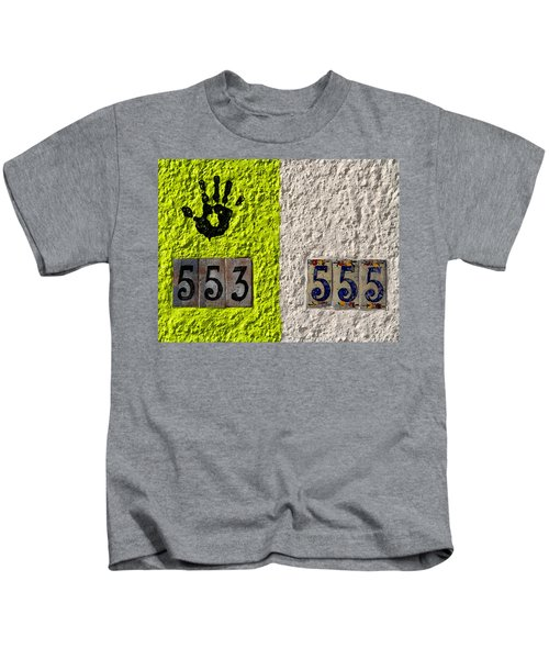 Black Hand Kids T-Shirt