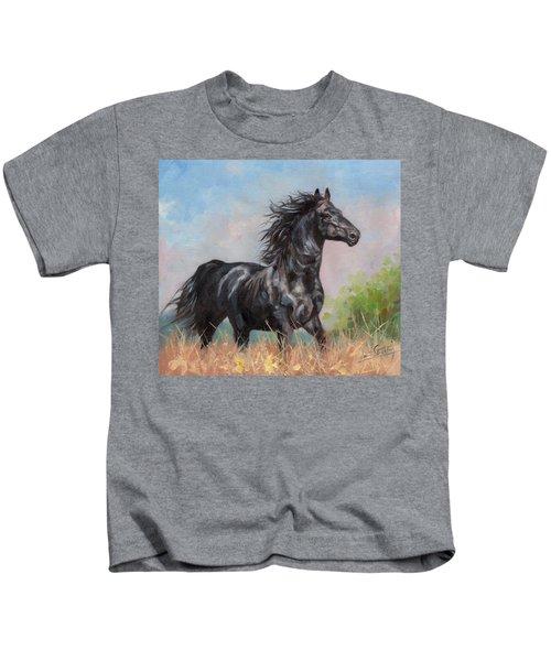 Black Stallion Kids T-Shirt