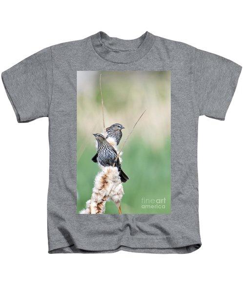 Blackbird Pair Kids T-Shirt