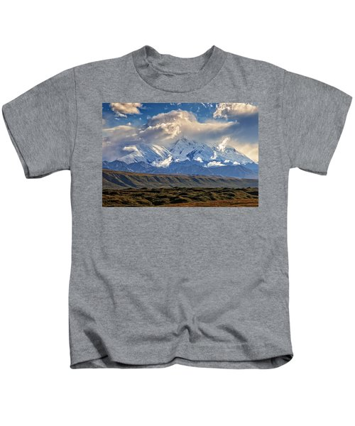 Blanket Of Clouds Kids T-Shirt