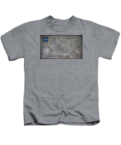 Blessing Kids T-Shirt by Stephen Stookey