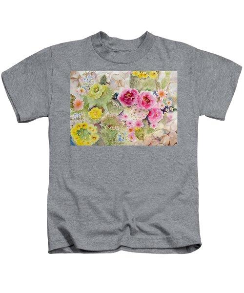Blooming Cacti Kids T-Shirt