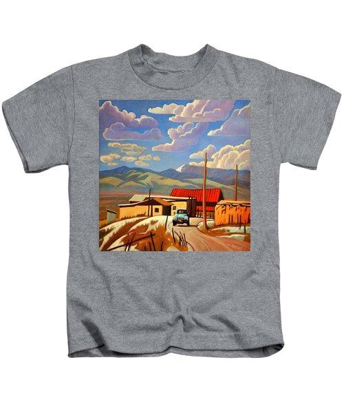 Blue Apache Kids T-Shirt
