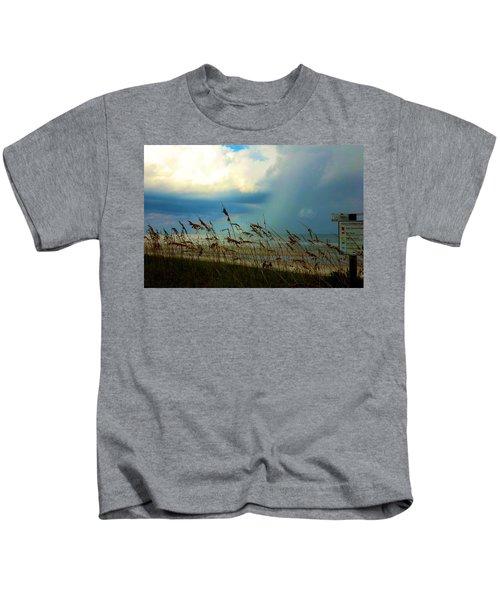 Blue Sky Above Kids T-Shirt