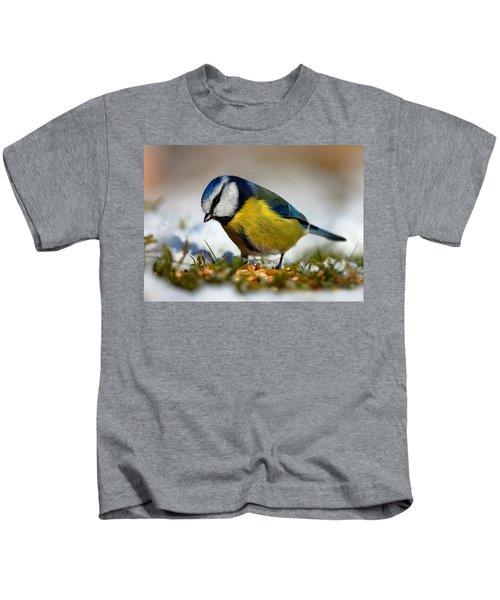 Blue Tit Kids T-Shirt