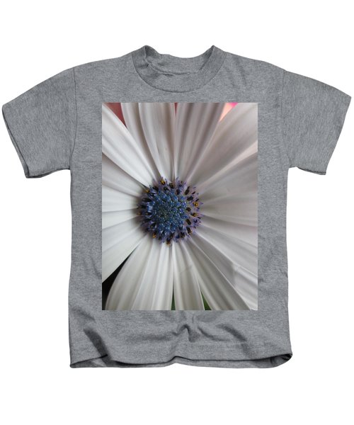 Blue-white Loveliness Kids T-Shirt