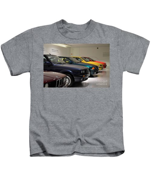 Bmw Cars Through The Years Munich Germany Kids T-Shirt