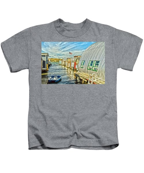 Boathouse Alley Kids T-Shirt