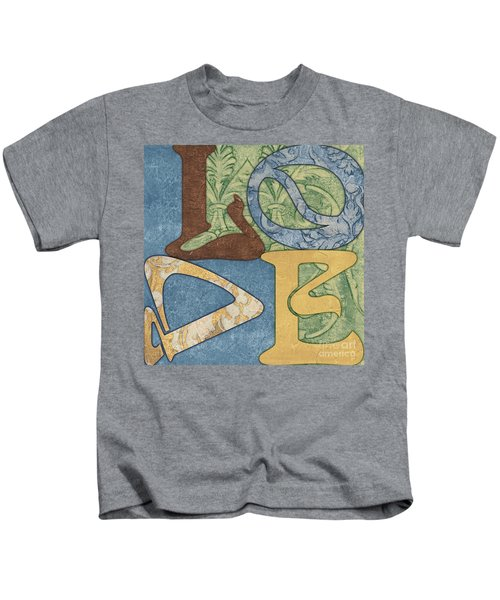 Bohemian Love Kids T-Shirt