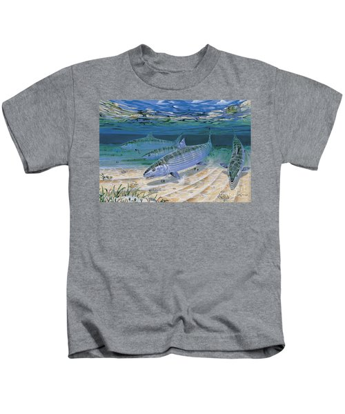 Bonefish Flats In002 Kids T-Shirt