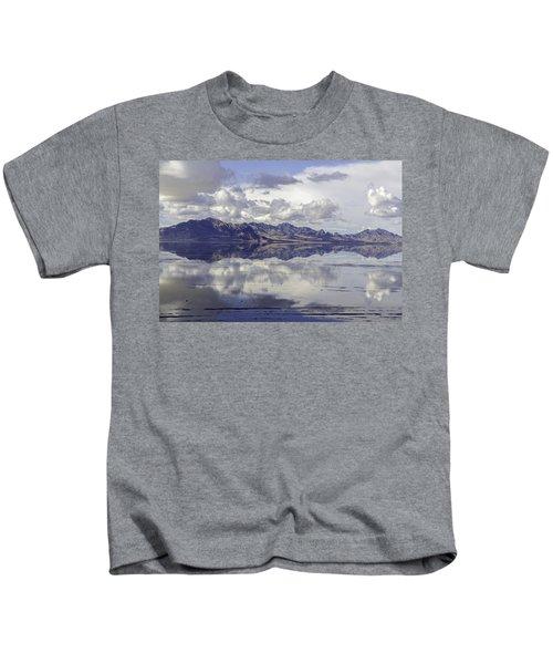 Bonneville Salt Flats Kids T-Shirt