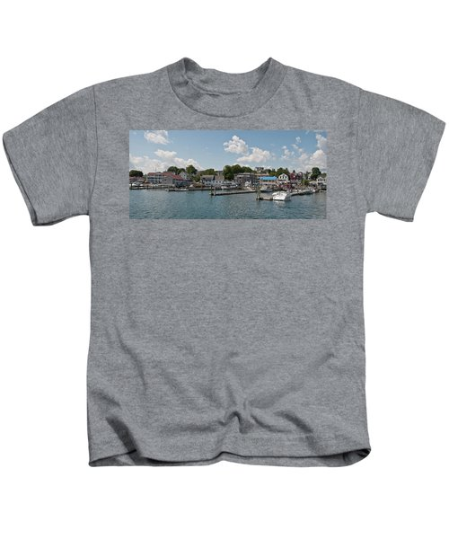 Boothbay Harbor 1242 Kids T-Shirt