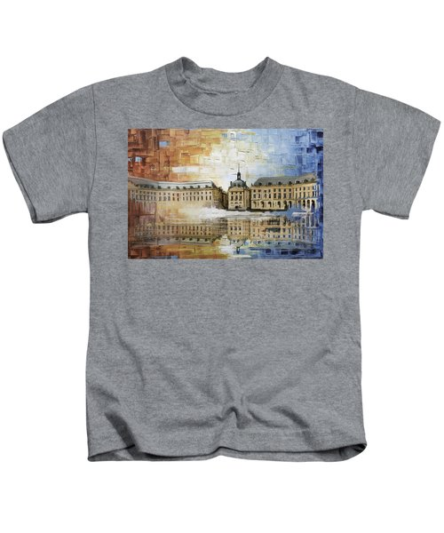 Bordeaux Port Of The Moon Kids T-Shirt