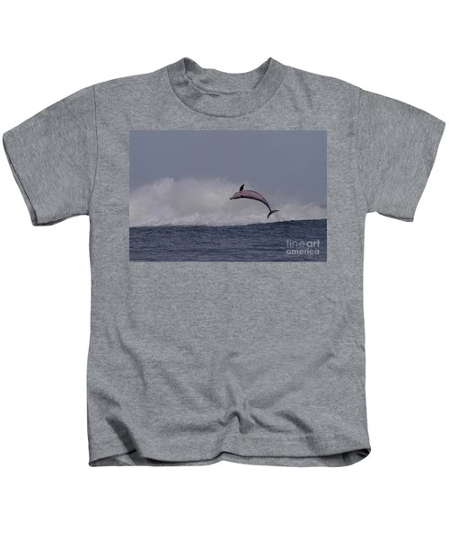 Bottlenose Dolphin Photo Kids T-Shirt