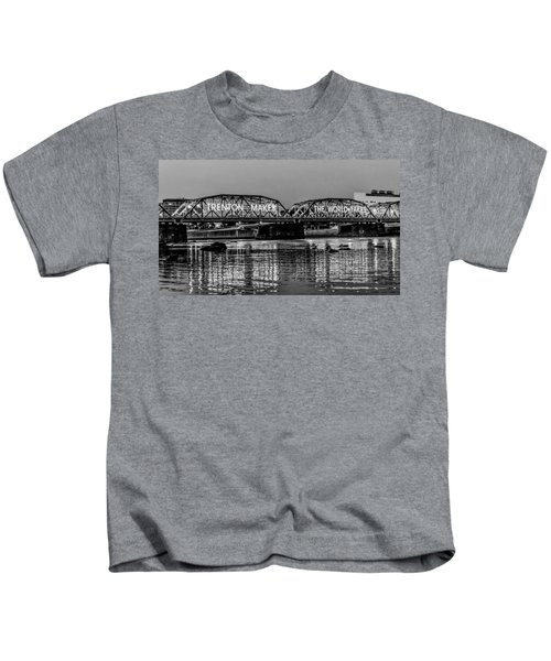 Trenton Makes Bridge Kids T-Shirt
