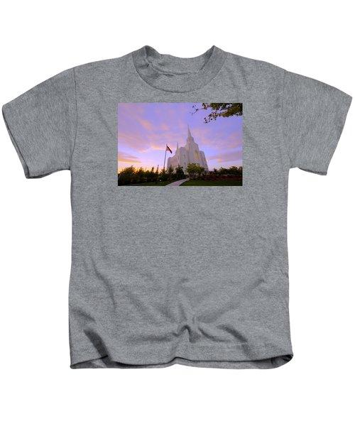 Brigham City Temple I Kids T-Shirt