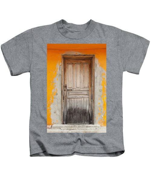Brightly Colored Door And Wall Kids T-Shirt