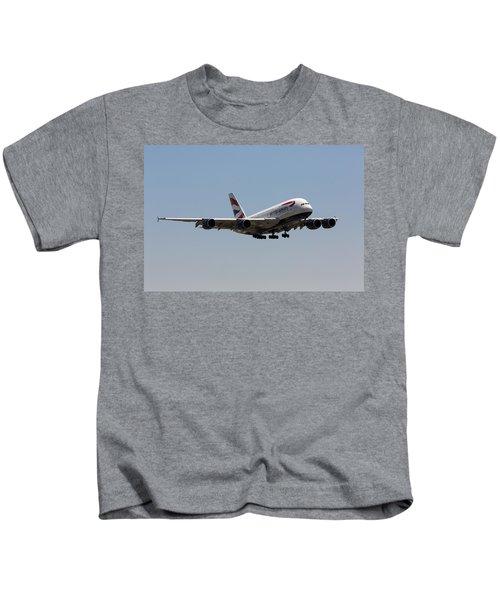 British Airways A380 Kids T-Shirt