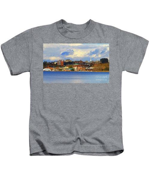 Burlington Vermont Lakefront Kids T-Shirt