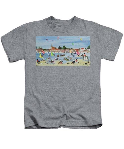 Busy Beach Kids T-Shirt