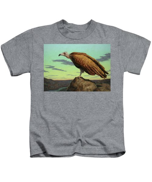 Buzzard Rock Kids T-Shirt by James W Johnson