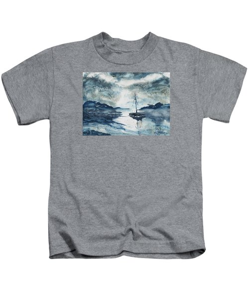 Calm Before The Storm  Kids T-Shirt