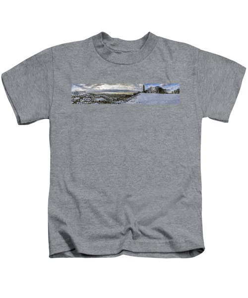 Calton Hill Panorama Kids T-Shirt