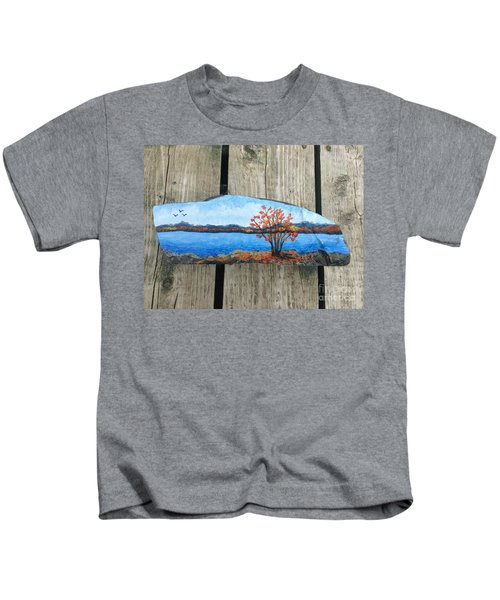 Canadian Maple In Fall Kids T-Shirt