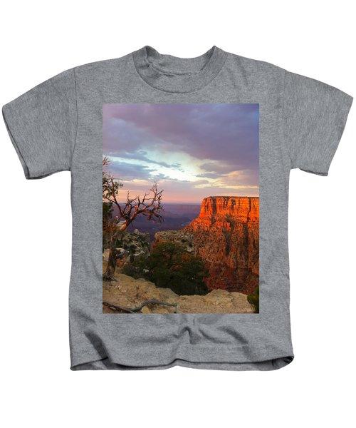 Canyon Rim Tree Kids T-Shirt
