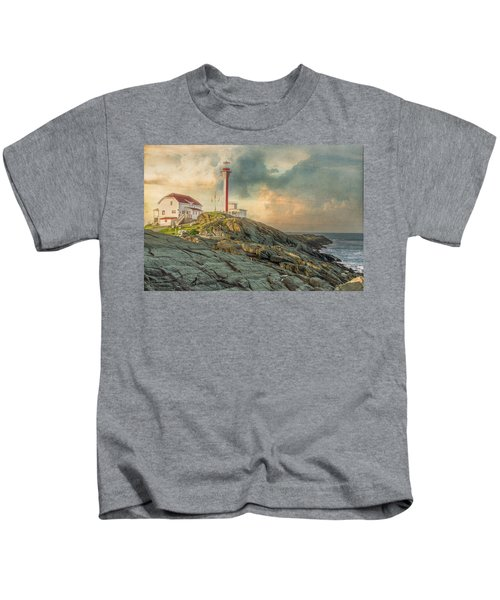 Cape Forchu  Kids T-Shirt