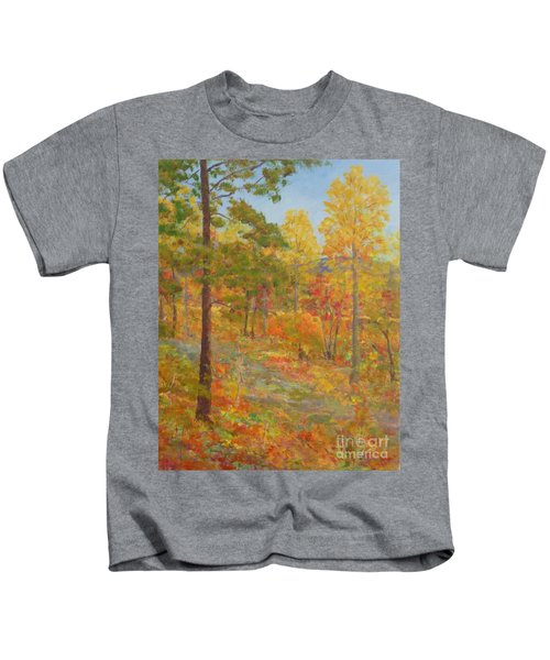 Carolina Autumn Gold Kids T-Shirt
