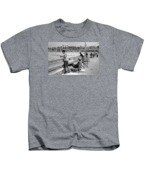 Catching More Than Fish Kids T-Shirt