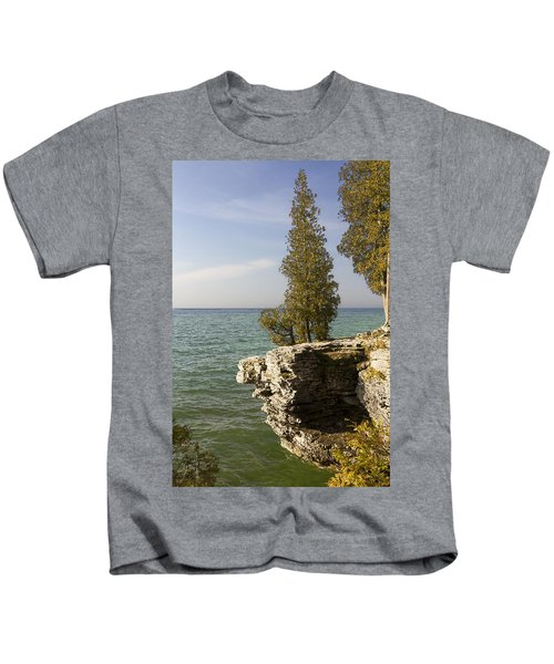 Cave Point - Signed Kids T-Shirt