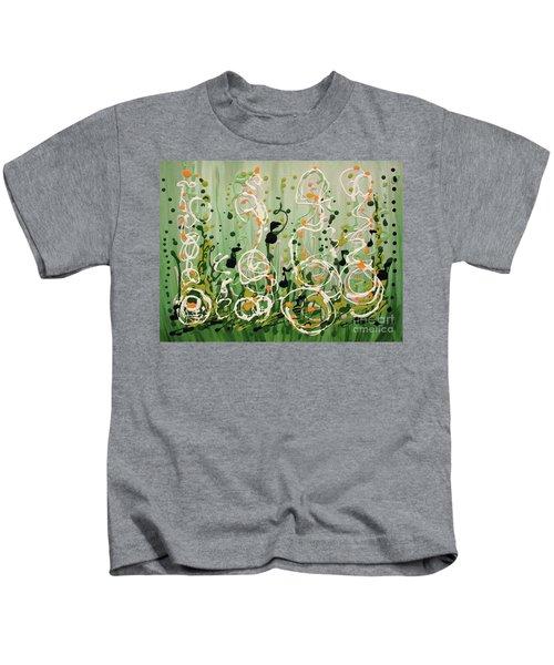 Champagne Symphony Kids T-Shirt