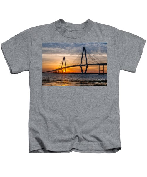Charleston Sun Setting  Kids T-Shirt