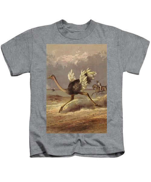 Chasing The Ostrich Kids T-Shirt by English School
