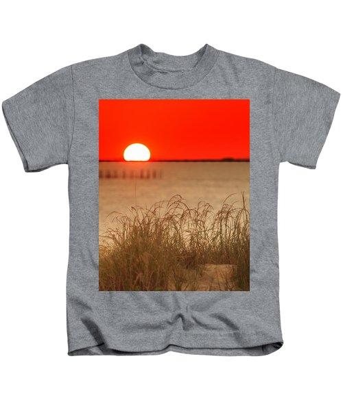 Chesapeake Sunset Kids T-Shirt