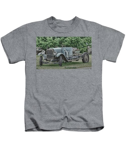 Chevy Truck By Ron Roberts Kids T-Shirt