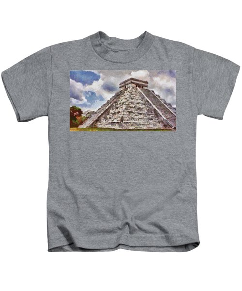 Chichen Itza Kids T-Shirt