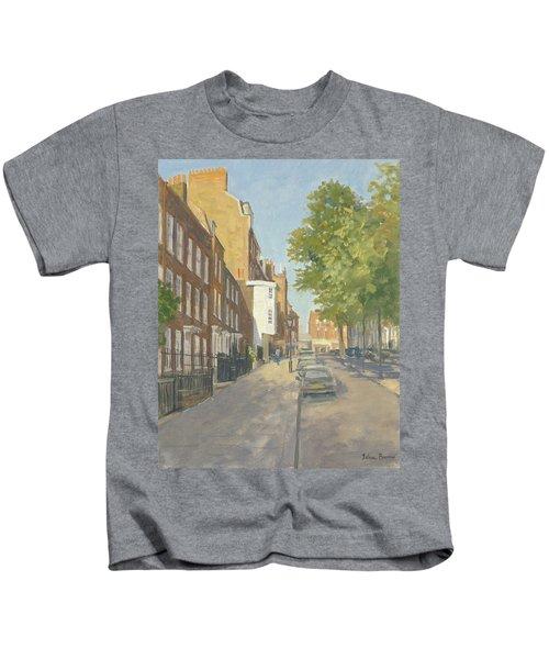 Church Row, Hampstead Oil On Canvas Kids T-Shirt