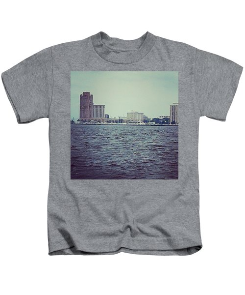 City Across The Sea Kids T-Shirt