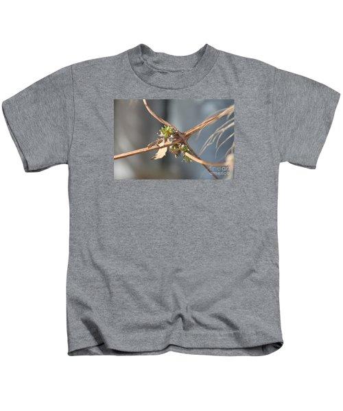 Clematis Vine Kids T-Shirt