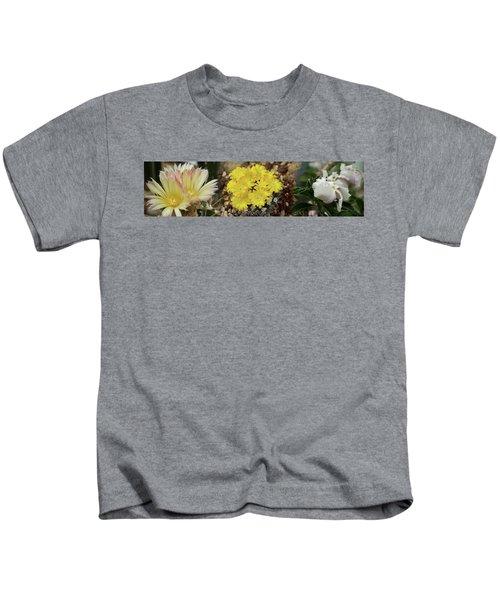 Close-up Of Wildflowers Kids T-Shirt