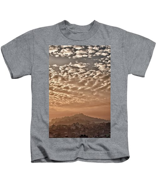 Cloud Over Kathmandu Kids T-Shirt