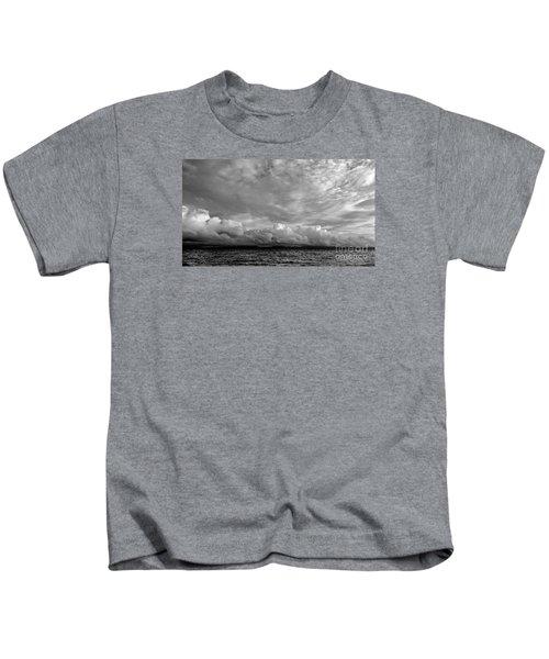 Clouds Over Alabat Island Kids T-Shirt