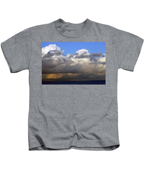 Clouds Over Portsmouth Kids T-Shirt