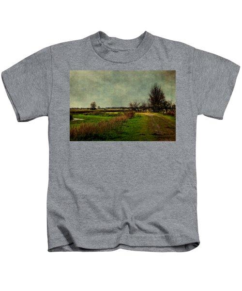 Cloudy Day Kids T-Shirt