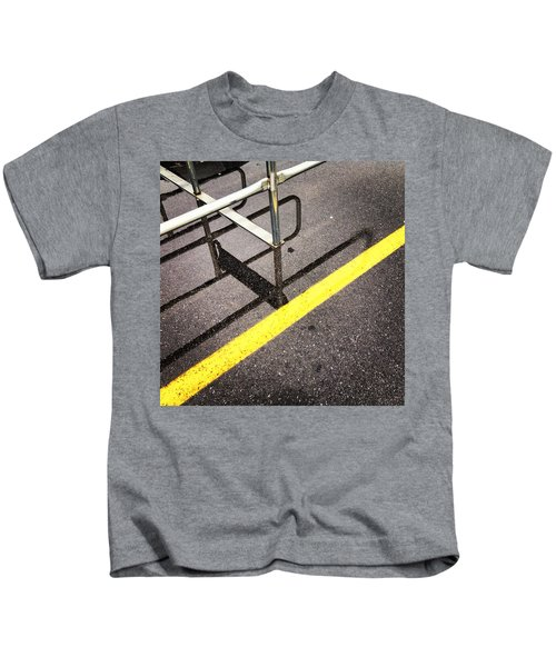 Cold Morning Shopping Kids T-Shirt