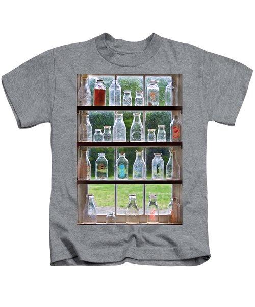 Collector - Bottles - Milk Bottles  Kids T-Shirt